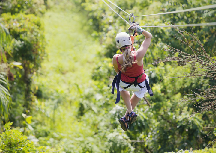 Ziplines or Bungee Jumping